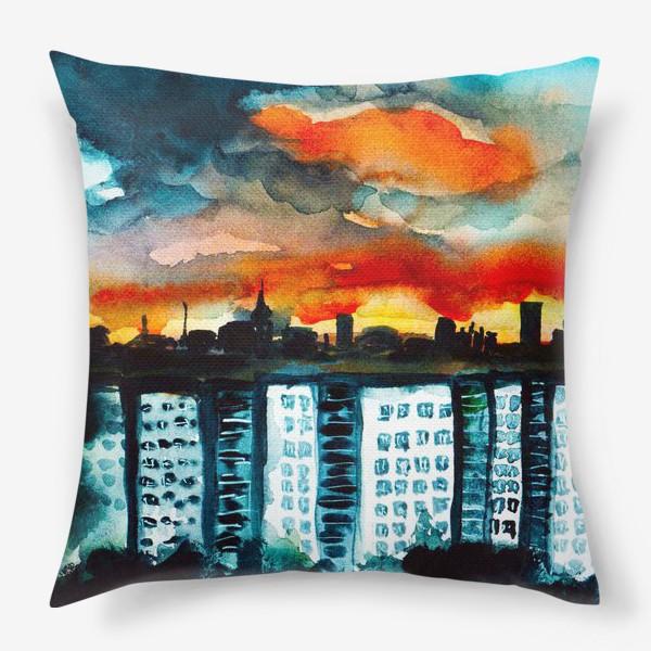 Подушка «Городская романтика»