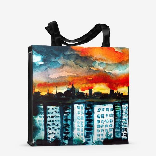 Сумка-шоппер «Городская романтика»