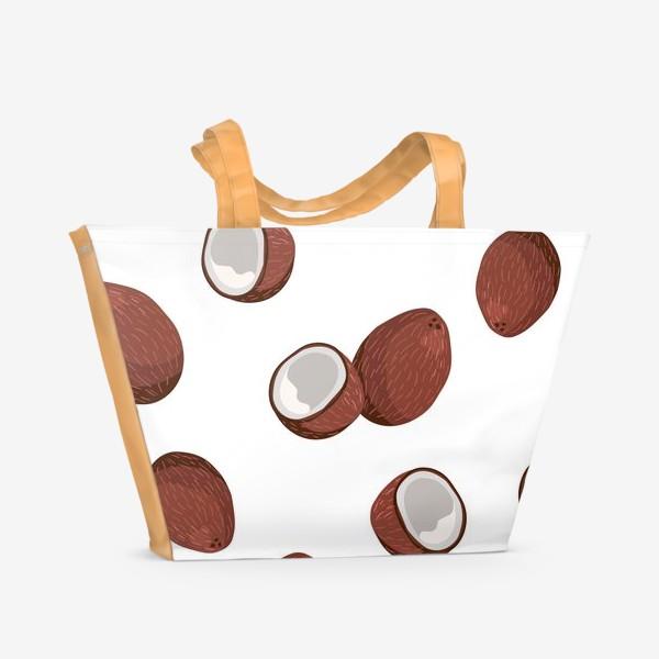 Пляжная сумка «Кокосы»