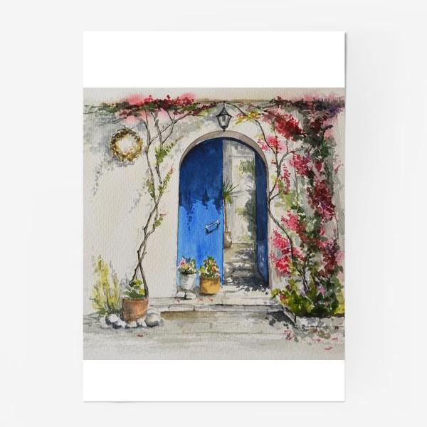 Постер «Греческий дворик»