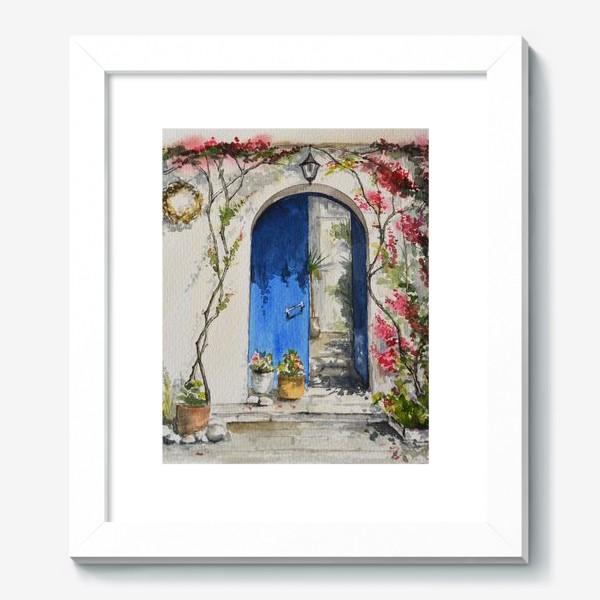 Картина «Греческий дворик»