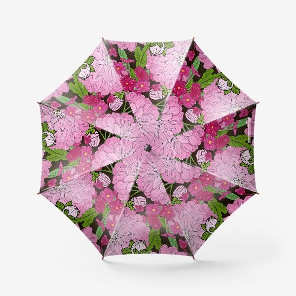 Зонт «пионы»