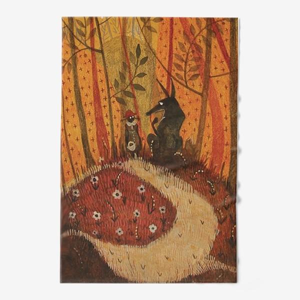Полотенце «красная шапочка»