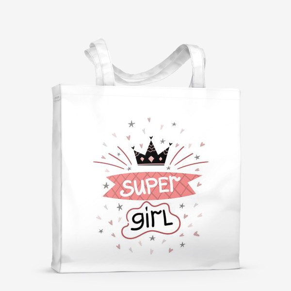 Сумка-шоппер «Super Girl»