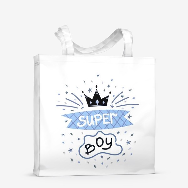 Сумка-шоппер «Super Boy»