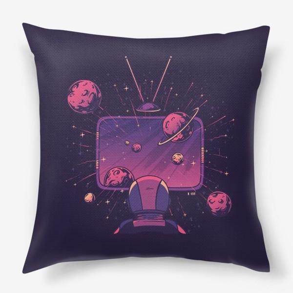 Подушка «Космический телевизор»