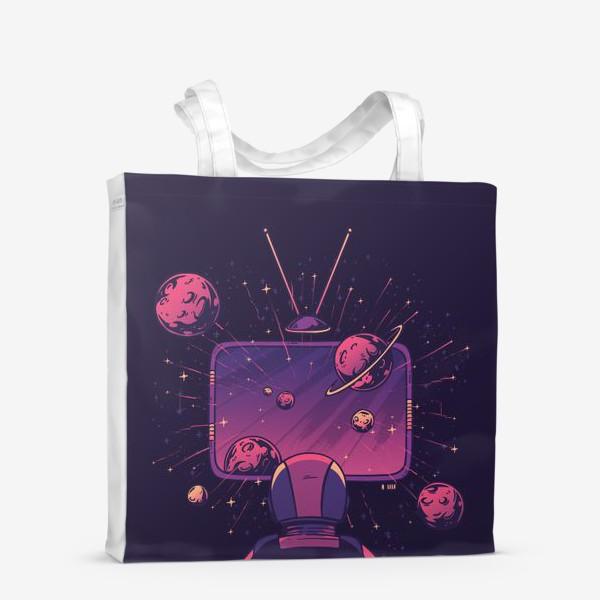 Сумка-шоппер «Космический телевизор»