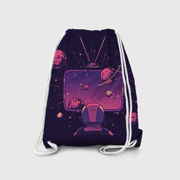Рюкзак «Космический телевизор»