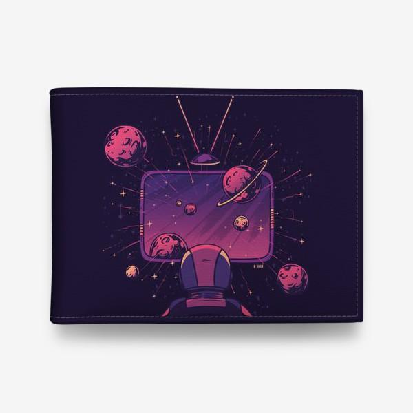 Кошелек «Космический телевизор»