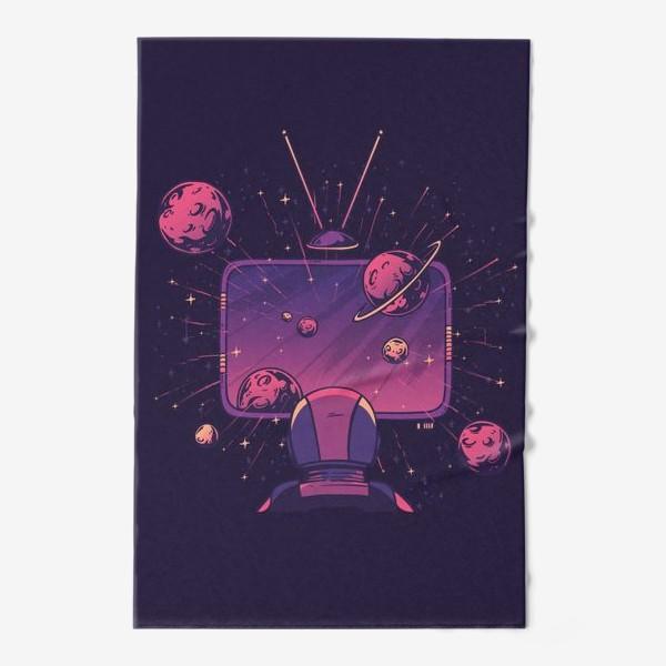 Полотенце «Космический телевизор»