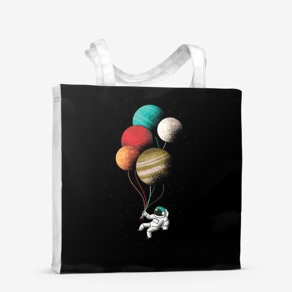 Сумка-шоппер «Астронавт с шариками»