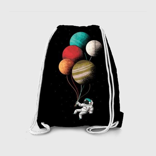 Рюкзак «Астронавт с шариками»