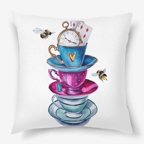 Подушка «Чаепитие»