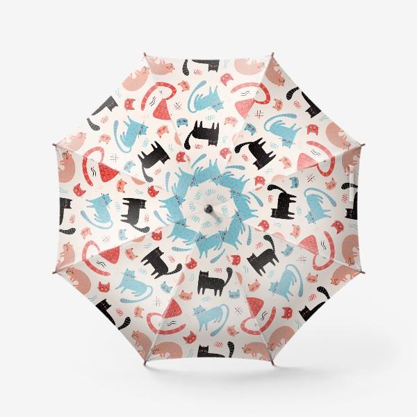 Зонт «Котики»