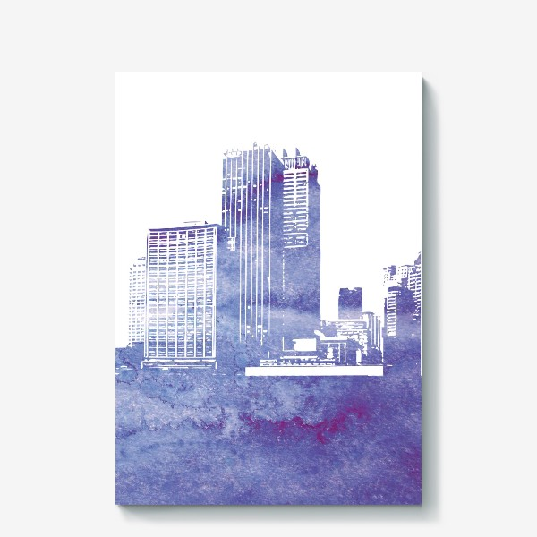Холст «City»