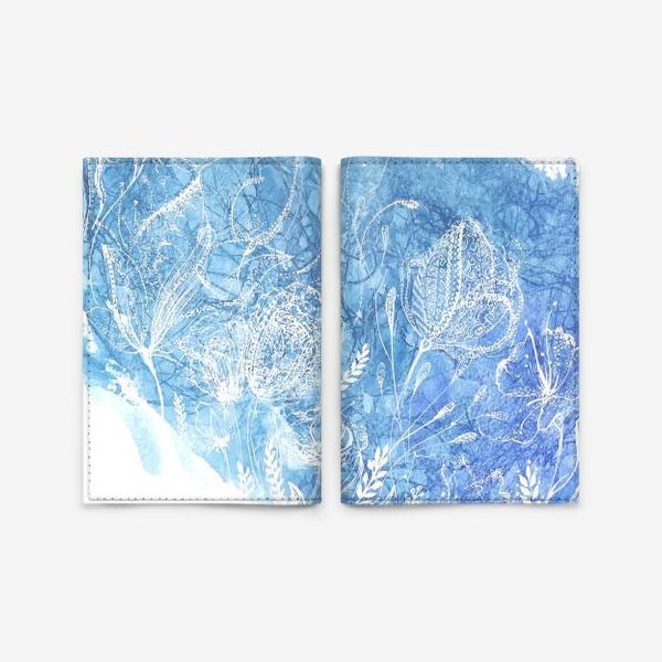 Обложка для паспорта «Blossom»