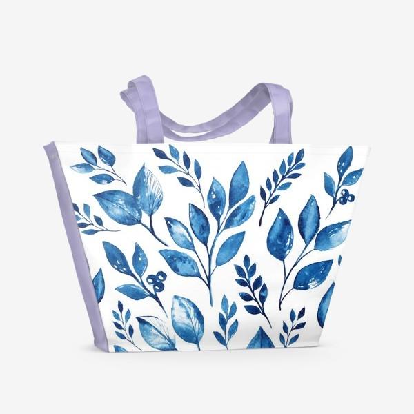 Пляжная сумка «Leafs»