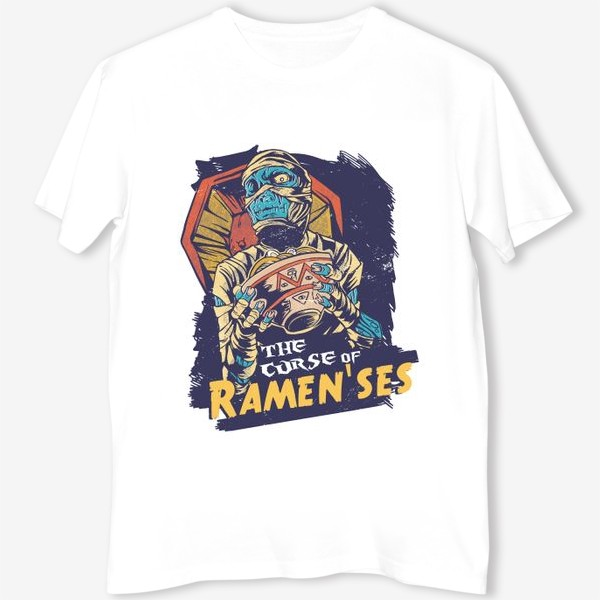 Футболка «Проклятие Мумии Рамензеса»