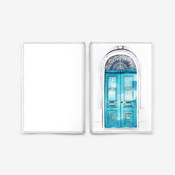 Обложка для паспорта «Door»