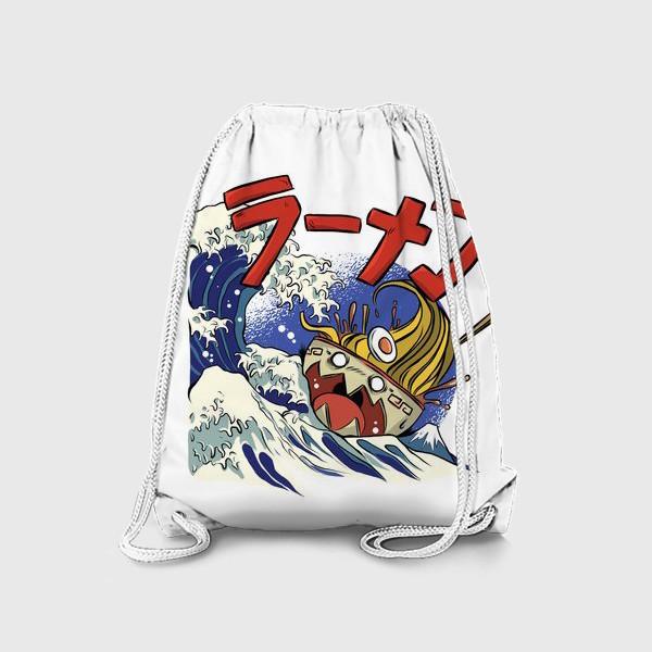 Рюкзак «Большая Волна в Канагаве и Рамен»