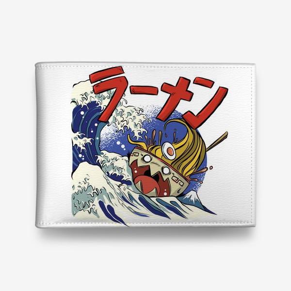 Кошелек «Большая Волна в Канагаве и Рамен»
