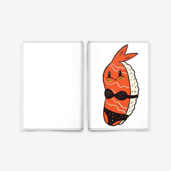 Обложка для паспорта «Суши в бикини»
