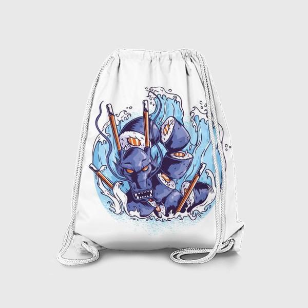 Рюкзак «Морской суши дракон»