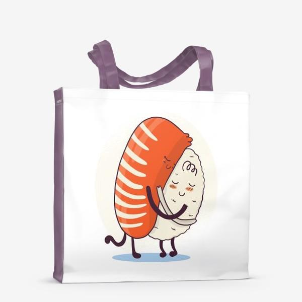Сумка-шоппер «Суши обнимашки»