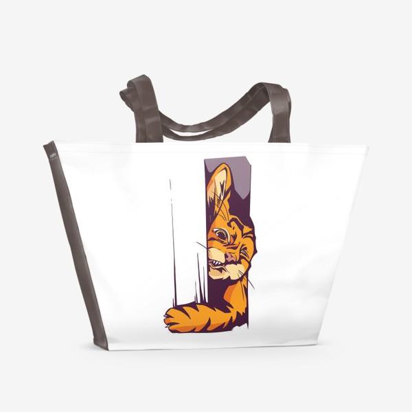 Пляжная сумка «А вот и КОТИК»