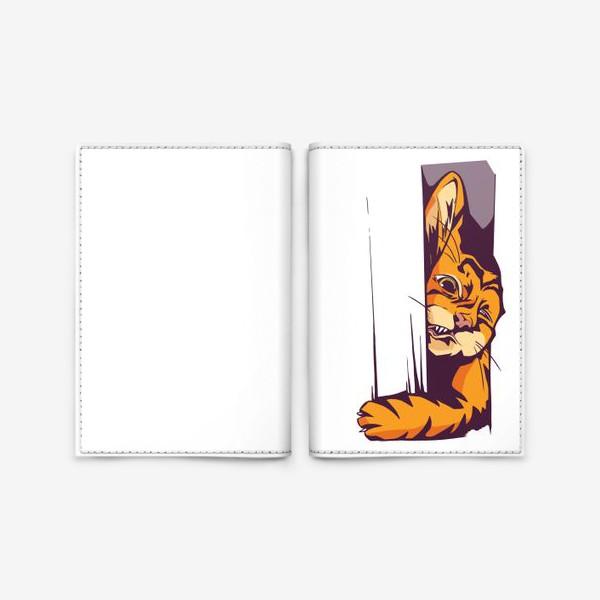 Обложка для паспорта «А вот и КОТИК»