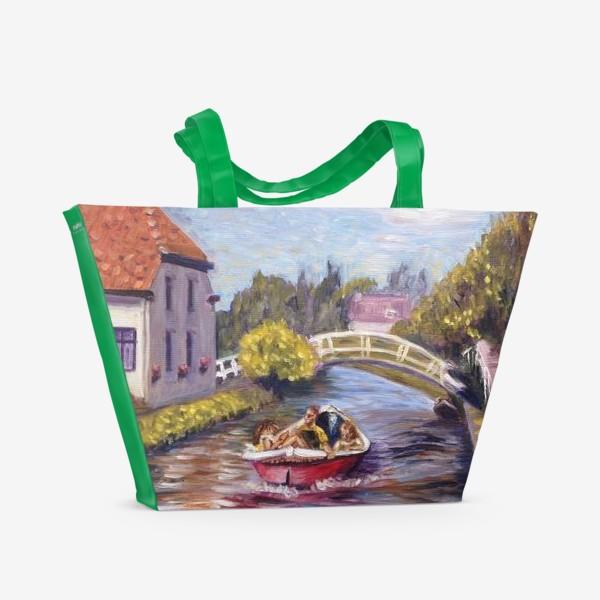 Пляжная сумка «Счастливое лето»