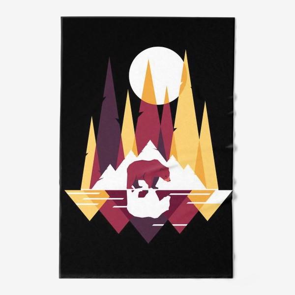 Полотенце «Геометрический лес»