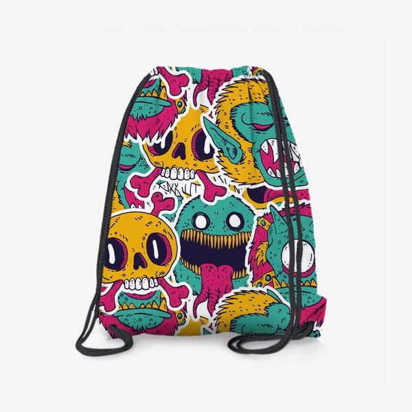 Рюкзак «Смешные монстрики»