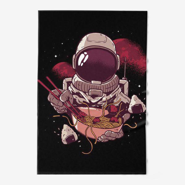 Полотенце «Космические спагетти с фрикадельками»