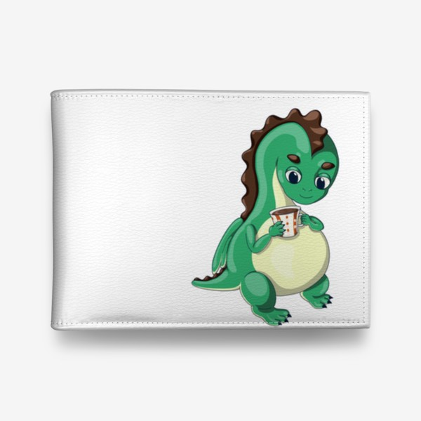 Кошелек «Чайный дракончик (зелёный)»