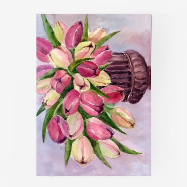 Постер «Букет тюльпанов»