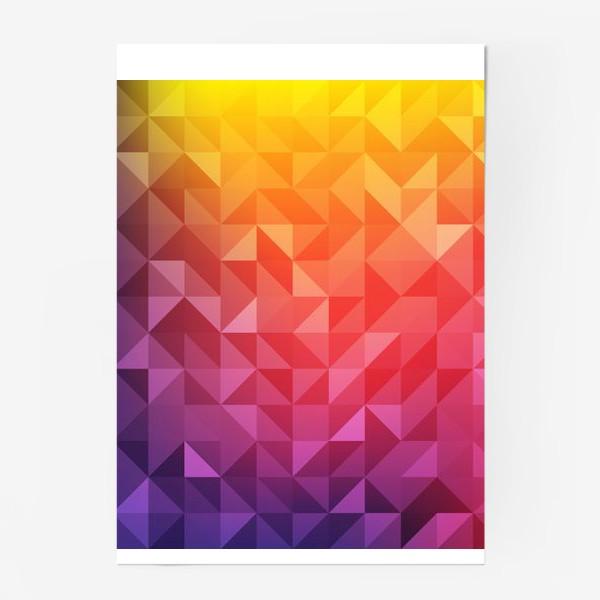 Постер «Геометрия цвета»
