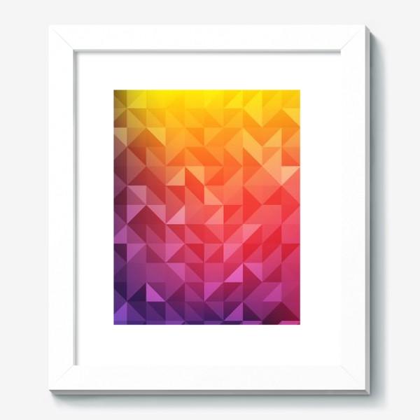 Картина «Геометрия цвета»