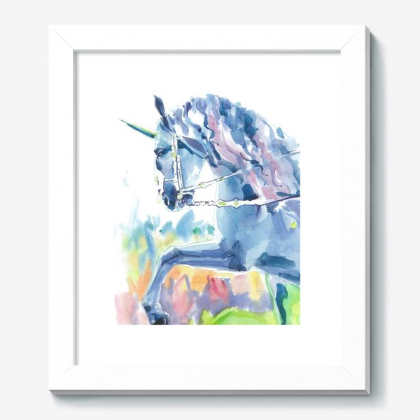 Картина «Волшебный лес. Единорог »