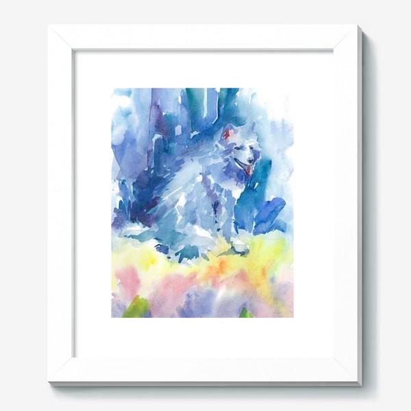 Картина «Волшебный лес. Волк»