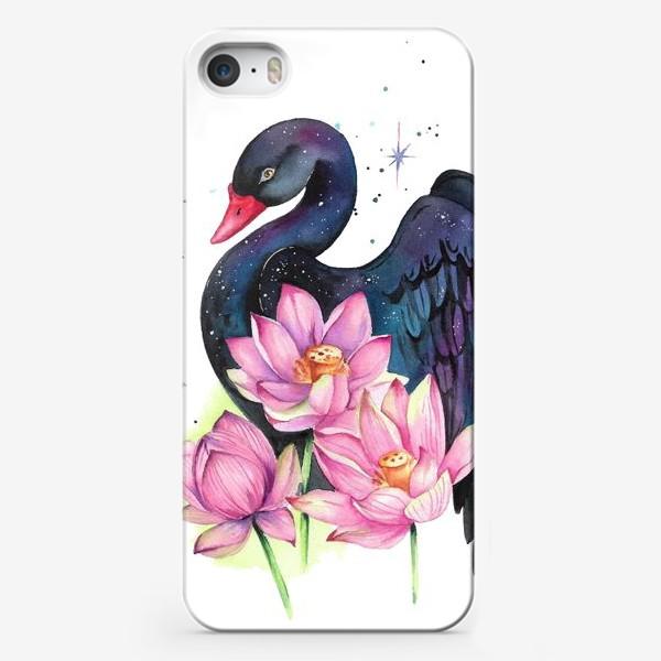 Чехол iPhone «Черный лебедь»