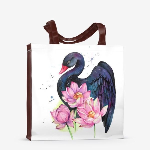 Сумка-шоппер «Черный лебедь»