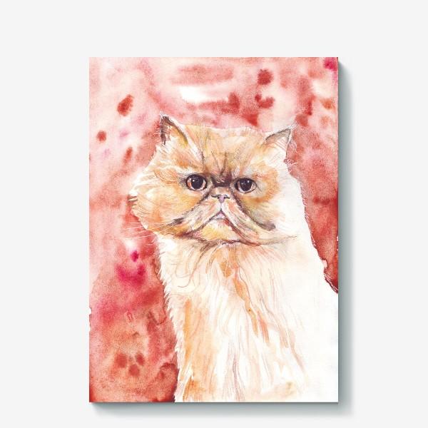 Холст «Персидский кот»