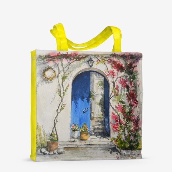 Сумка-шоппер «Греческий дворик»