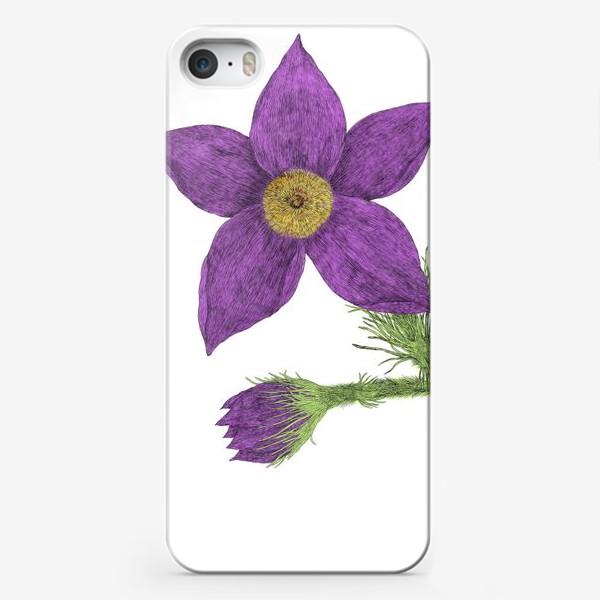 Чехол iPhone «Весенний цветок»