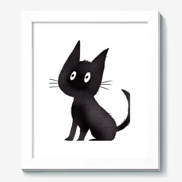Картина «Милый чёрный кот»