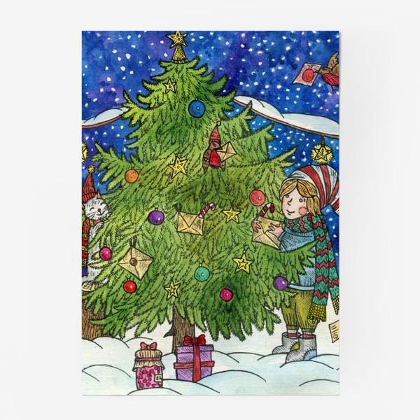 Постер «Новогодняя елка»