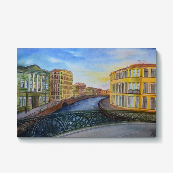 Холст «Санкт-петербург»