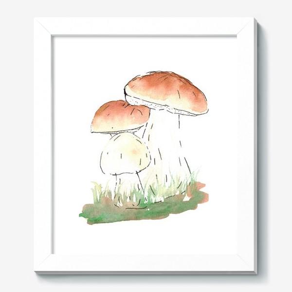 Картина «Porcini mushrooms»