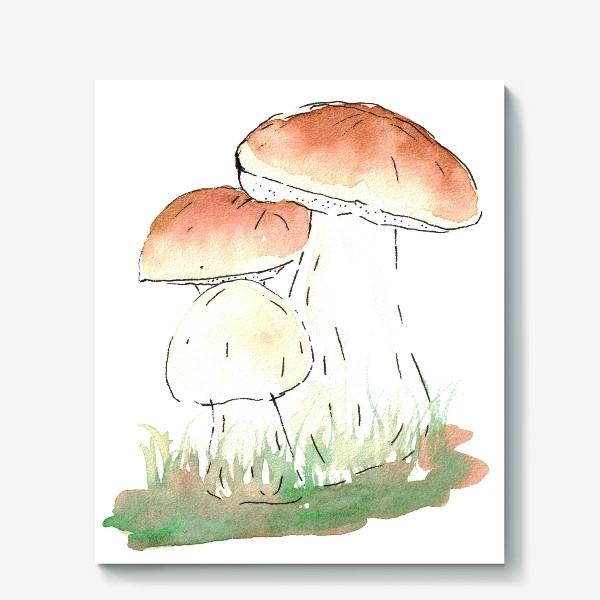 Холст «Porcini mushrooms»